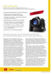 DCS Pro SLR/c Digitalkamera - GM-Foto