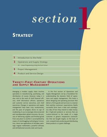 twenty -first -century operations supply management
