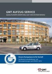GMT AufzuG-Service - Tepper Aufzüge GmbH