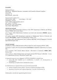 Federica Di Grazia - Phd.dees.unict.it - Università degli Studi di ...