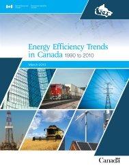Energy Efficiency Trends in Canada