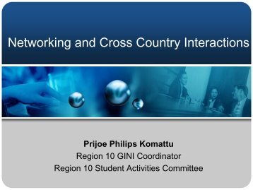W3 Networking Student Branches Cross-Branch Organizations of ...
