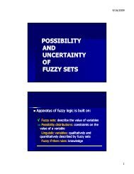 POSSIBILITY AND UNCERTAINTY OF FUZZY SETS