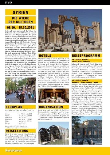SYRIEN - ACS-Reisen