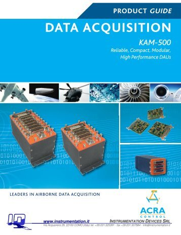 DATA Acquisition - Instrumentation Devices