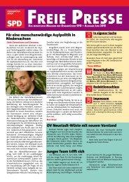 Freie Presse - SPD Osnabrück