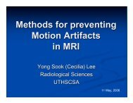 Methods for preventing Motion Artifacts in MRI [pdf]