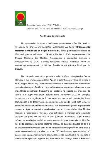 BALADI - Seminário - CNA