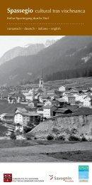 Spassegio cultural tras vischnanca - Savognin