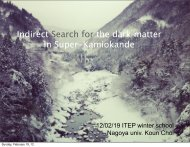 Indirect Search for the dark matter in Super-Kamiokande