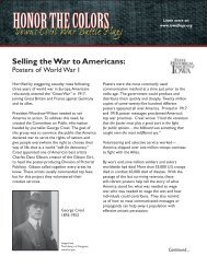 Selling the War to Americans: - State Historical Society of Iowa