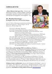 Lebenslauf (.pdf) - Edition Stoareich