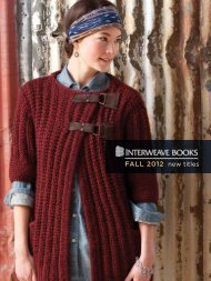 Fall 2012 new titles - Interweave