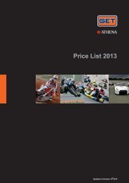 Price List 2013 - GP Products
