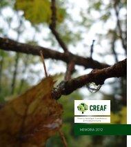 MEMÒRIA 2012 - CREAF - Universitat Autònoma de Barcelona