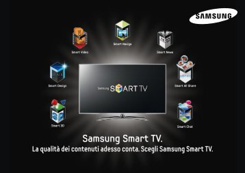 Samsung Smart TV.