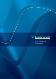 Relatório Anual 2009 - Banco Votorantim