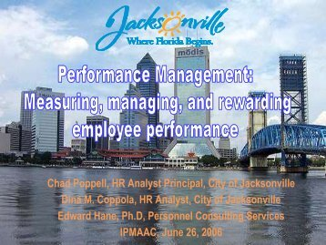 Performance Management: Measuring, managing, and ... - IPAC