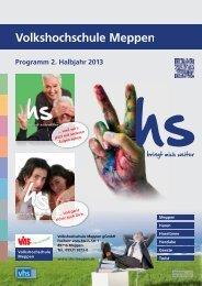 komplett 2/2013 (8.421,7 KB) - Volkshochschule Meppen