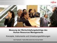 Fujitsu Standard Tool - Bodensee-Forum Personalmanagement