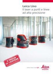 Leica Lino Il laser a punti e linee ad alta precisione - Distoleica.it