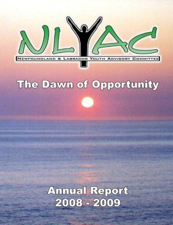 2008-2009 Youth Advisory Committee Annual Report