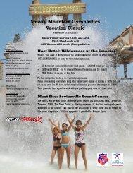 Smoky Mountain Gymnastics Vacation Classic - NetLynx Sports