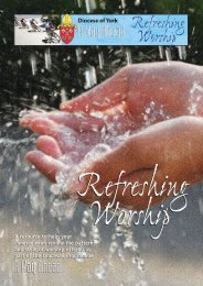 Refreshing Worship - The Diocese of York