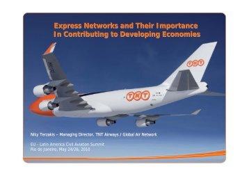 TNT's Global Air Network