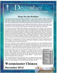 Christmas 2012 - St. James Westminster Anglican Church, London