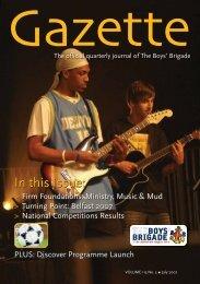 July 2007 - The Boys' Brigade