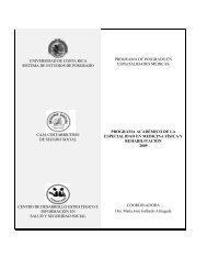 Universidad de Costa Rica - CENDEISSS