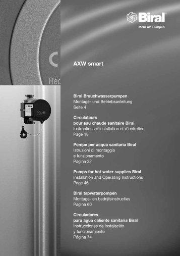 AXW smart - Biral