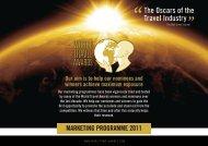 marketing programme 2011 - World Travel Awards