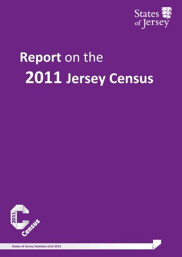 Download report on the 2011 Jersey census - States of Jersey