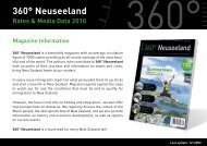 Discounts - bei 360° Neuseeland