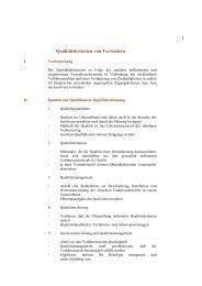 1 Qualitätskriterien von Verwaltern - bei Mönning und Georg ...