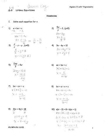 Worksheets Literal Equation Worksheet equations worksheets sharebrowse literal sharebrowse