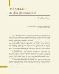Lima Barreto - Légua & meia - Universidade Estadual de Feira de ...