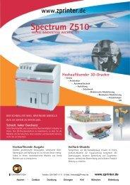 Spectrum Z510 - 3D-Drucker