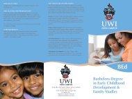 Programme Brochure - Open Campus - Uwi.edu