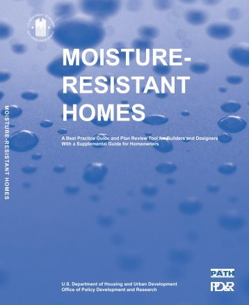 Moisture Resistant Homes - Partnership for Advancing Technology ...