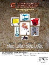 Download Catalogue - Commander Warehouse Equipment