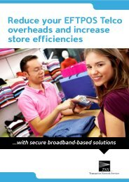 Download the Retail Connectivity brochure - TNS