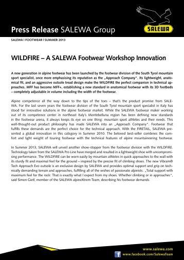 Press release SALEWA Group