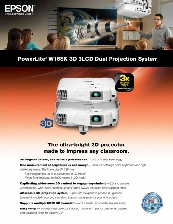 The ultra-bright 3D projector made to impress ... - Projector Reviews