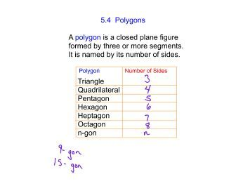 Number Names Worksheets pentagon hexagon heptagon octagon : MATHS ANSWERS PACK 2 A nu