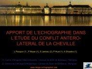 apport de l'echographie dans l'etude du conflit antero- lateral de la ...