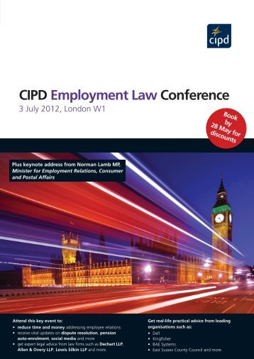 CIPD Employment Law Conference