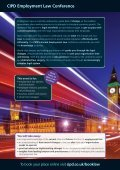 CIPD Employment Law Conference - Page 2